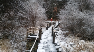 백천마을 겨울풍경